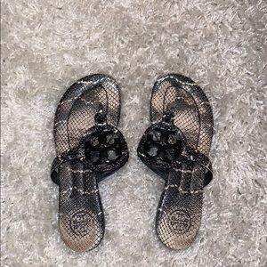 Tory Burch Snake Miller Sandal